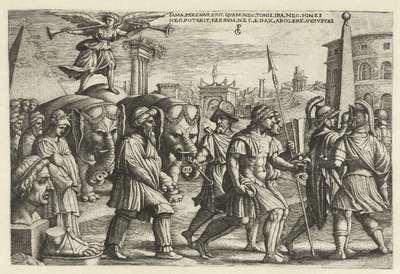 Triomf van Faam; Zes triomfen van Petrarca