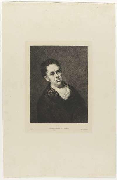 Portret Francisco Goya
