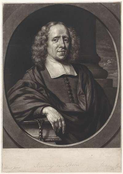Portret van Henricus van Born