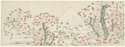 Image from object titled Fuji en kersenbloesem