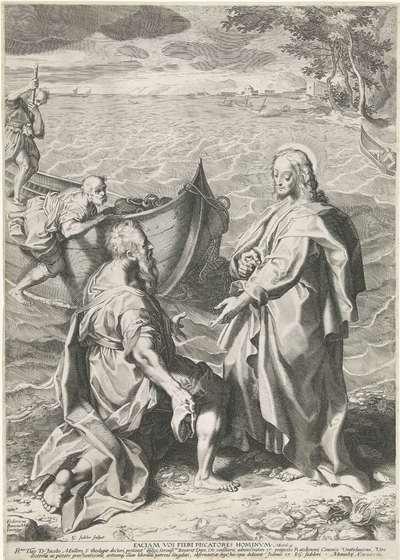 Roeping van Petrus en Andreas