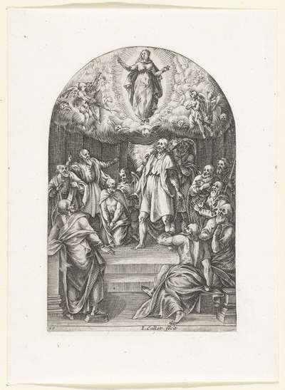 Hemelvaart van Maria; Schilderijen en sculpturen te Rome