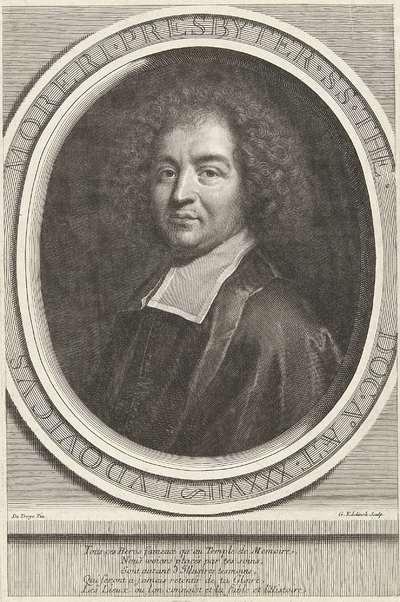 Portret van Louis Moreri