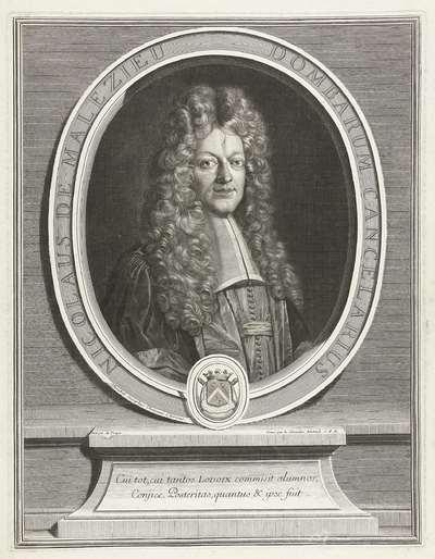 Portret van Nicolas de Malezieu