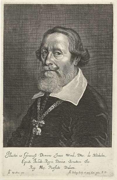 Portret van Ivar Wind
