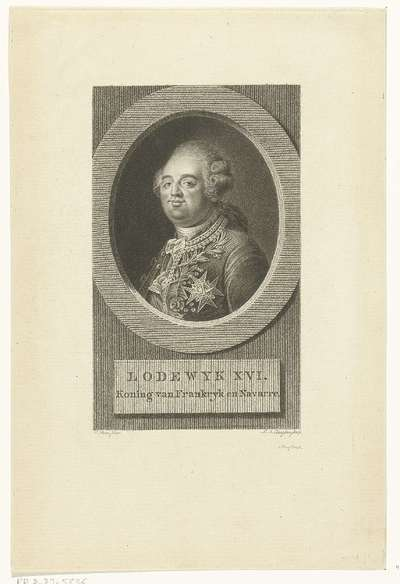 Portret van Lodewijk XVI