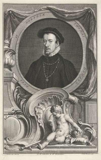 Portret van Thomas Howard
