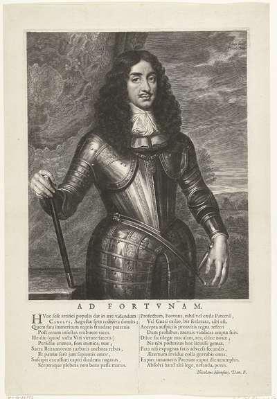 Portret van Karel II, koning van Engeland