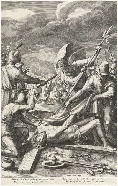 Christus ontkleed door de soldaten; Passie van Christus; Pręcipua Passionis D.N. Jesu Christi mysteria