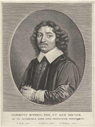 Portret van Albert Kijper