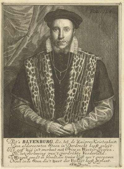 Portret van Adriaen van Blijenburgh