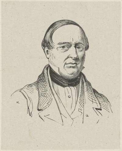 Portret van Ludovicus Roelandt