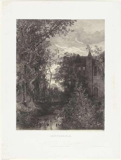 Kasteel Vorden; Crépuscule