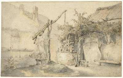 Farmhouse with a Well