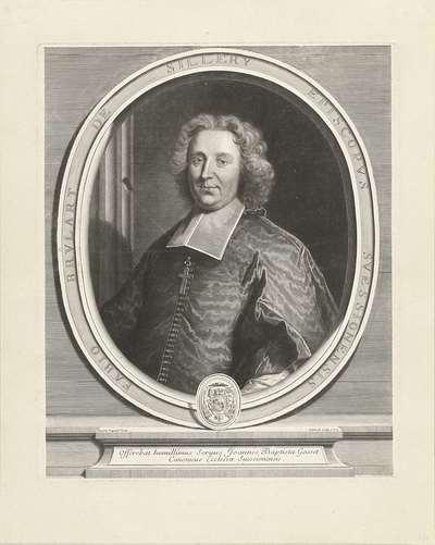 Portret van Fabio Brûlart de Sillery