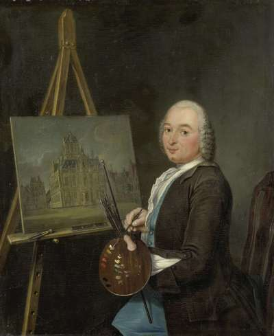 Image from object titled Portrait of Jan ten Compe, Painter and Art Dealer in Amsterdam