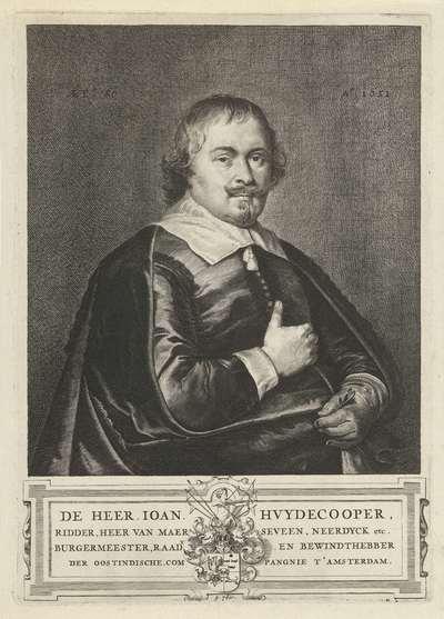 Portret van Joan Huydecoper