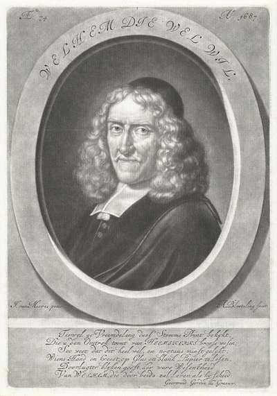 Portret van Willem van Heemskerk