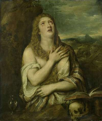 Image from object titled Penitent Mary Magdalene