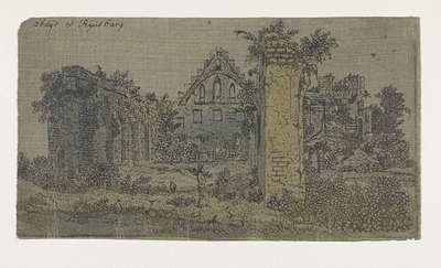 Ruins of the Abbey of Rijnsburg, Small Version