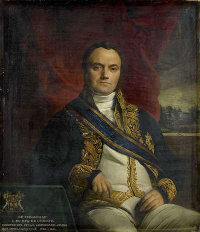 Image from object titled Portrait of Léonard Pierre Joseph, Viscount du Bus de Gisignies, Commissioner-General