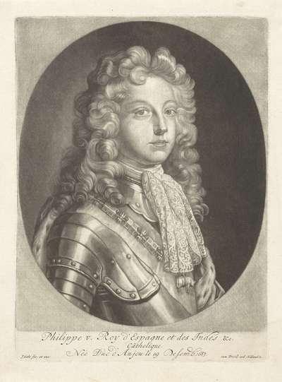 Portret van Filips V, koning van Spanje