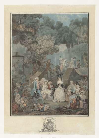 Bruiloftsfeest; La noce au Château