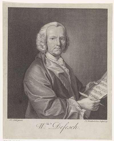 Portret van Willem de Fesch