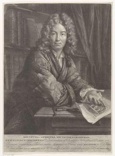 Portret van Bernard Picart