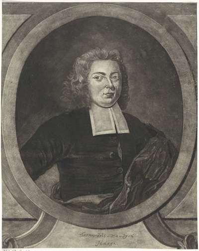 Portret van Bernardus Sandijk