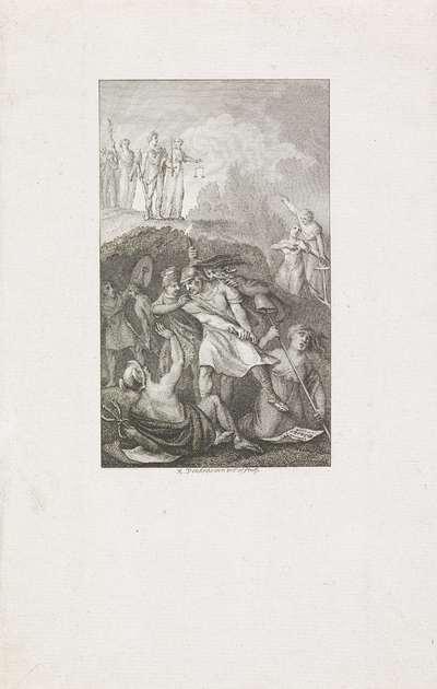 Dwingelandij vertrapt de Vrijheid en Koophandel, 1813