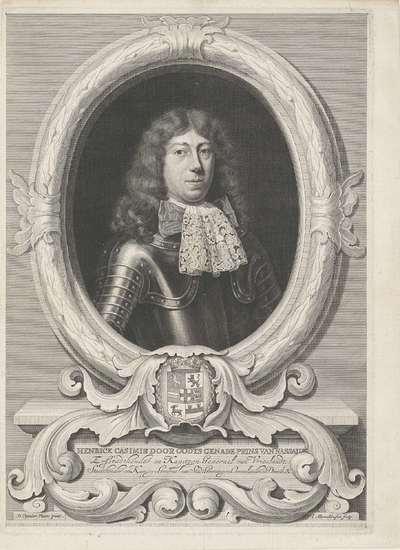 Portret van Hendrik Casimir II, graaf van Nassau-Dietz