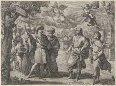 Allegorie op het geslacht Barberini