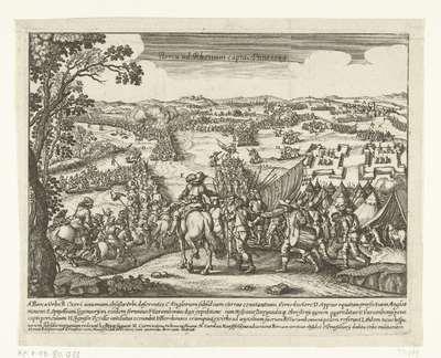Inname van Rheinberg, 1590; Berca ad Rhenum capta Anno 1589