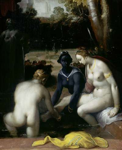 Image from object titled Bathsheba at her Toilet
