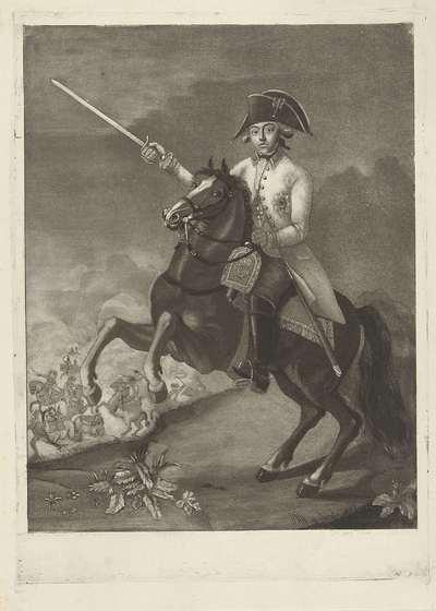 Image from object titled Portret van Willem George Frederik, prins van Oranje-Nassau