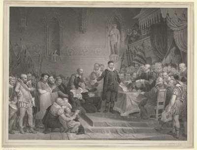 De voorspraak van Prins Willem I ten behoeve van de Rooms Katholieke gevangenen te Gent in 1578