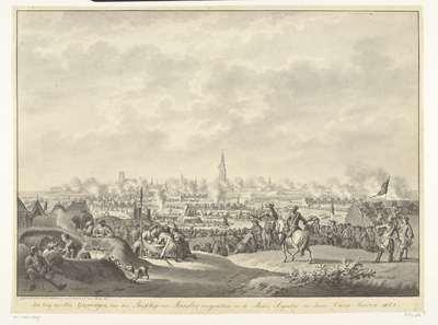Beleg van Groningen, 1672; Het beleg der Stad Groningen, door den Bisschop van Munster; voorgevallen in de Maand Augustus des Jaars Onzes Heeren 1672