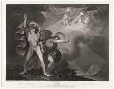 De heksen verschijnen aan Macbeth and Banquo