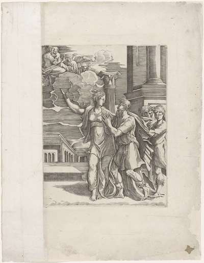 Keizer Augustus en de Tiburtijnse Sibille