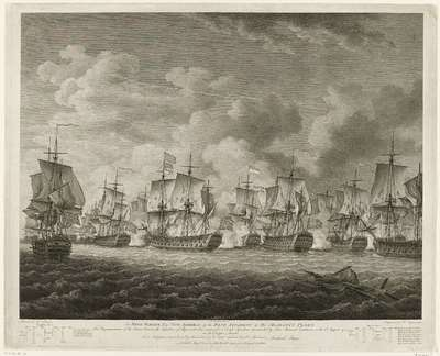 Zeeslag bij Doggersbank, 1781