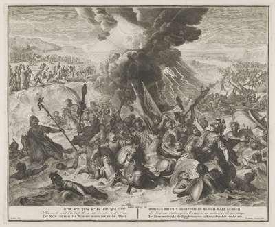 Vernietiging van het Egyptische leger in de Rode Zee