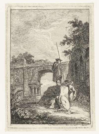 Triomfboog; Les Soireés de Rome; Romeinse gezichten