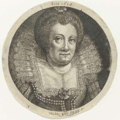 Portret van Catharina van Pallandt, gravin van Culemborg