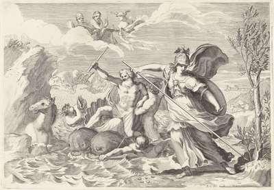 Krachtmeting tussen Minerva en Neptunus