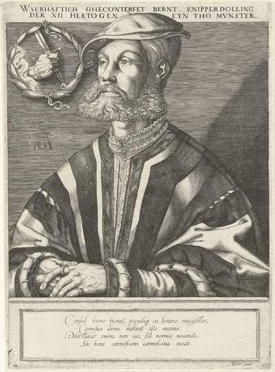 Portret van Bernardus Knipperdolling