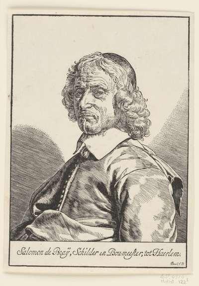Portret van Salomon de Bray