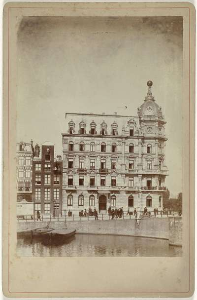 Image from object titled Het Victoria Hotel in Amsterdam; Victoriahotel, Amsterdam
