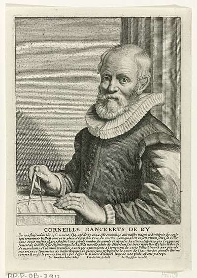 Portret van Cornelis Danckerts de Rij