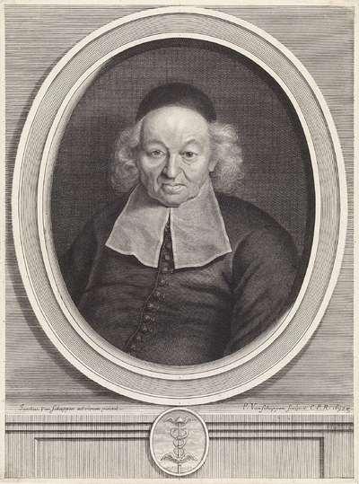 Portret van Ismaël Bullialdus